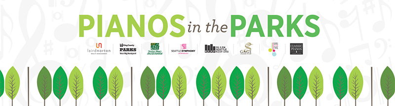 Pianos In The Parks Banner